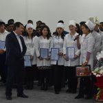 Азиатский медицинский институт имени Саткынбая Тентишева: посвящение в студенты, именные стипендии, сертификаты